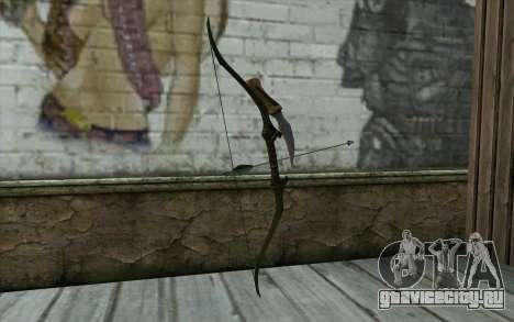Green Arrow Bow v3 для GTA San Andreas второй скриншот