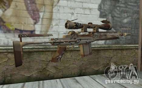 M14 EBR Chipdesert для GTA San Andreas второй скриншот