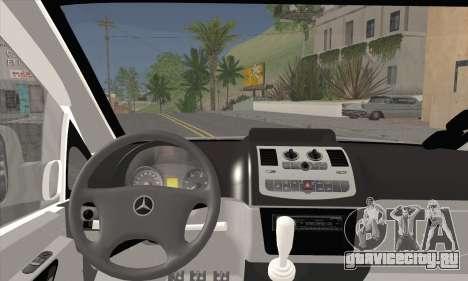 Mercedes-Benz Vito Vip для GTA San Andreas вид сзади слева