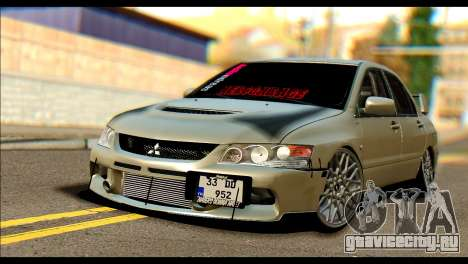 Mitsubishi Lancer Evolution IX JDM для GTA San Andreas