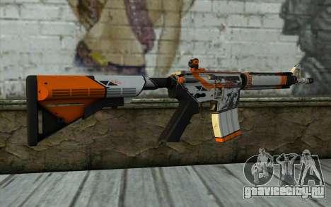 M4A4 from CS:GO для GTA San Andreas второй скриншот