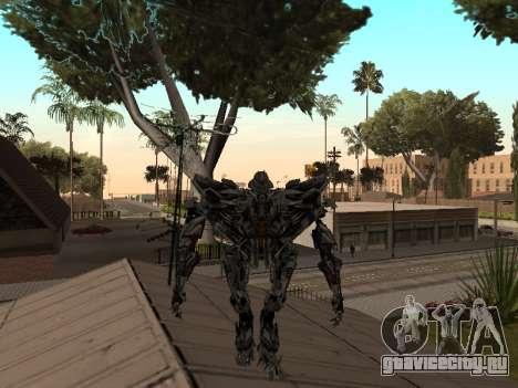 Transformers 3 Dark of the Moon Skin Pack для GTA San Andreas седьмой скриншот