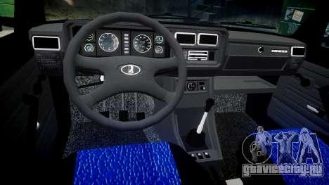 ВАЗ-2107 best model для GTA 4 вид изнутри