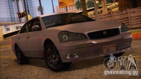 GTA 5 Intruder для GTA San Andreas