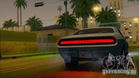 Dodge Challenger Concept для GTA San Andreas вид слева