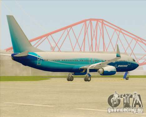 Boeing 737-800 House Colors для GTA San Andreas