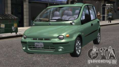 Fiat Multipla для GTA 4
