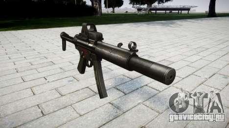 Пистолет-пулемёт MP5SD EOTHS FS для GTA 4