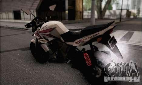 Honda Verza 150 для GTA San Andreas вид слева