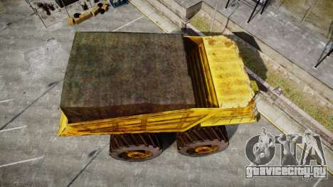 Mining Truck для GTA 4 вид справа
