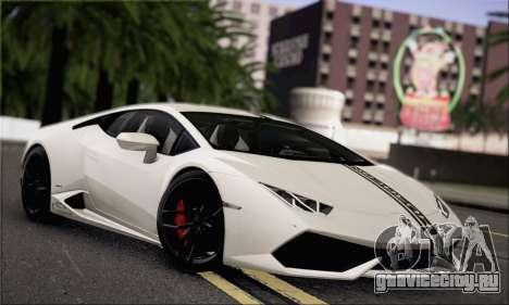 Lamborghini Huracan LP610-4 2015 для GTA San Andreas вид сверху