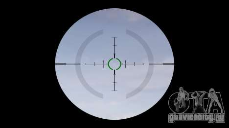 Автомат P416 ACOG silencer PJ1 target для GTA 4 третий скриншот