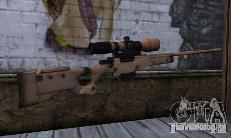 L11A3 Sniper Rifle для GTA San Andreas второй скриншот