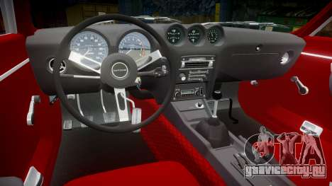 Datsun 260Z 1974 для GTA 4 вид сзади