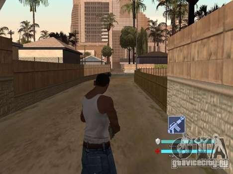 C-HUD OREAN для GTA San Andreas