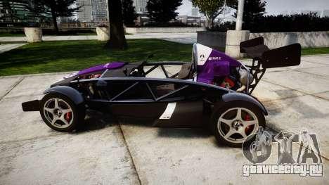 Ariel Atom V8 2010 [RIV] v1.1 FOUR C Motorsport для GTA 4 вид слева