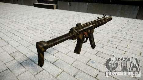 Пистолет-пулемёт MP5SD NA FS для GTA 4 второй скриншот