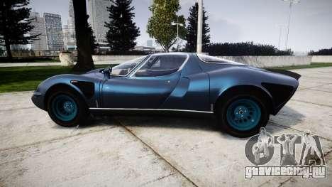Alfa Romeo 33 Stradale для GTA 4 вид слева