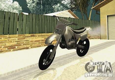 Sanchez SuperMoto для GTA San Andreas