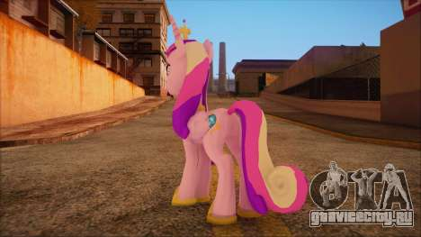 Cadence from My Little Pony для GTA San Andreas второй скриншот