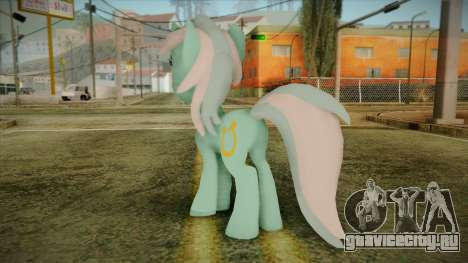 Lyra from My Little Pony для GTA San Andreas второй скриншот