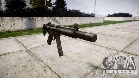 Немецкий пистолет-пулемёт HK MP5SD3 для GTA 4