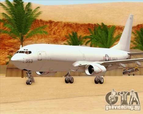 Boeing P-8 Poseidon US Navy для GTA San Andreas вид сбоку