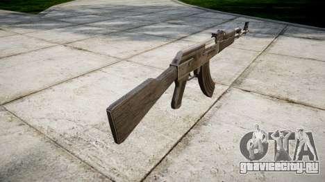 Автомат АК-47 Grey для GTA 4 второй скриншот