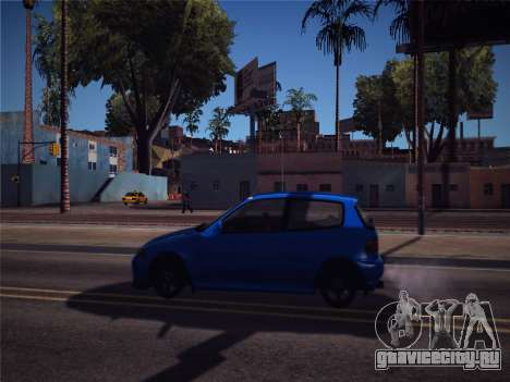 Honda Civic JDM Edition для GTA San Andreas вид сзади слева