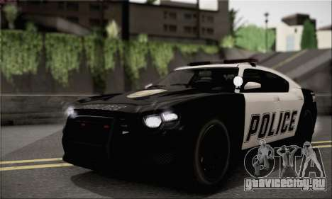 Bravado Buffalo S Police Edition (HQLM) для GTA San Andreas