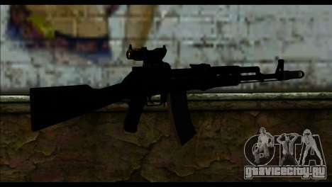 AK-101 ACOG для GTA San Andreas второй скриншот