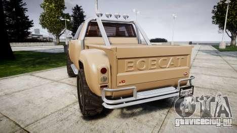 Vapid Bobcat Desert для GTA 4 вид сзади слева