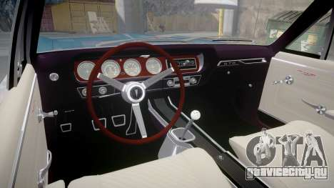 Pontiac GTO 1965 Sharpie для GTA 4 вид сзади