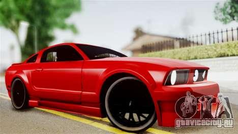Ford Mustang GT 2012 для GTA San Andreas