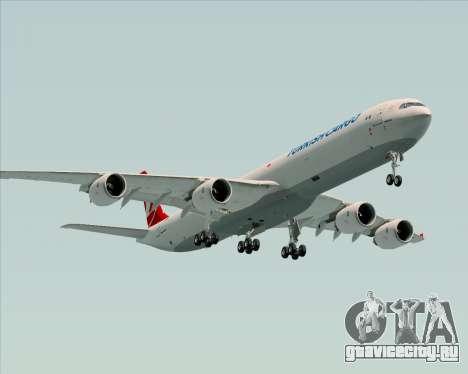 Airbus A340-600 Turkish Cargo для GTA San Andreas двигатель