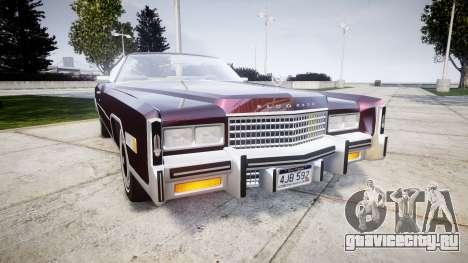 Cadillac Eldorado 1978 для GTA 4