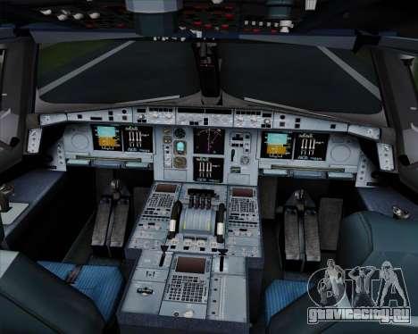 Airbus A380-800 Hainan Airlines для GTA San Andreas салон