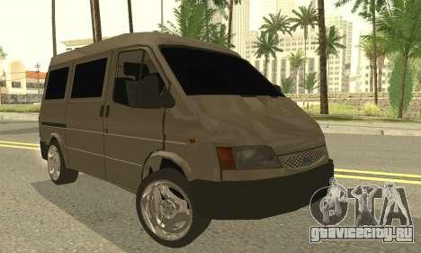 Ford Transit 1997 Medium Roof для GTA San Andreas