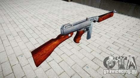 Пистолет-пулемёт Thompson M1A1 box icon3 для GTA 4 второй скриншот