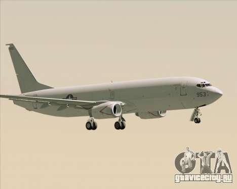 Boeing P-8 Poseidon US Navy для GTA San Andreas вид справа