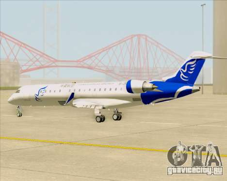 Embraer CRJ-700 China Express Airlines (CEA) для GTA San Andreas вид изнутри