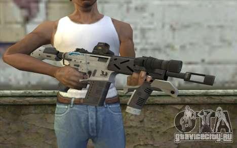 Peacekeeper from Call of Duty Black Ops II для GTA San Andreas третий скриншот