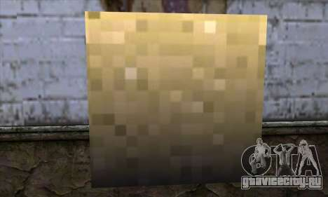 Блок (Minecraft) v6 для GTA San Andreas