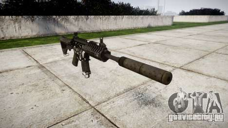 Автомат P416 silencer PJ3 для GTA 4