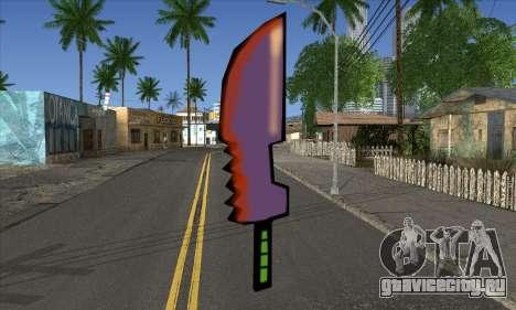 Мультяшный меч для GTA San Andreas
