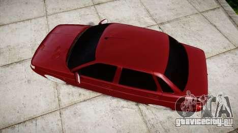 ВАЗ-2110 Bogdan rims2 для GTA 4 вид справа