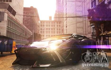 Lamborghini Aventador TZR R-Tech для GTA 4 вид сзади слева