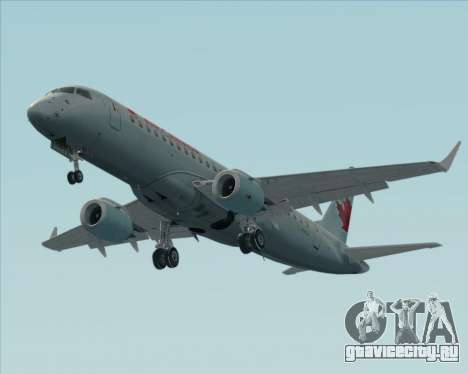 Embraer E-190 Air Canada для GTA San Andreas вид снизу