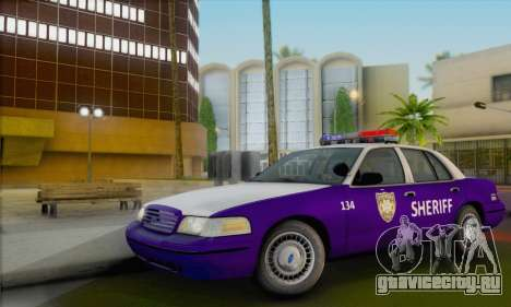 Ford Crown Victoria 1999 Walking Dead для GTA San Andreas