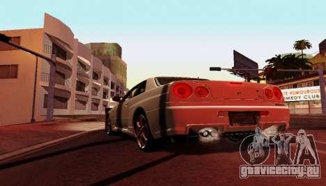ENB для слабых компьютеров для GTA San Andreas пятый скриншот